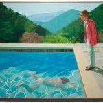 David Hockney Painting Pool With Two Figures Via Spesial.net