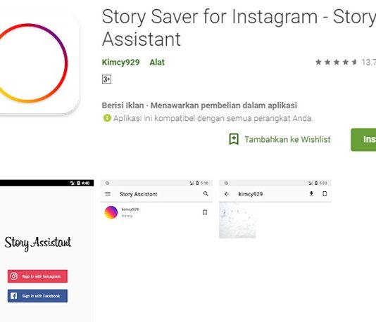 Tips Download Video Dari Story Orang Lain GOOGLE
