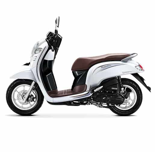 Honda Scoopy Esp Stylish White 2