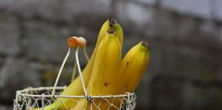 Bananas Basket Blur 461208