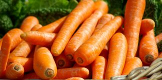 Basket Carrots Close Up 37641