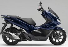 Honda Production Pcx Hybrid Scooter September 2