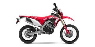 19 Honda CRF450L Still