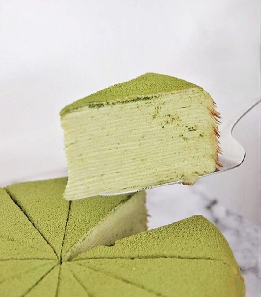 5 Matcha Mille Crepes