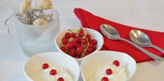 Berries Bowl Cream 162757